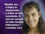 bendito el padre, dios consuela