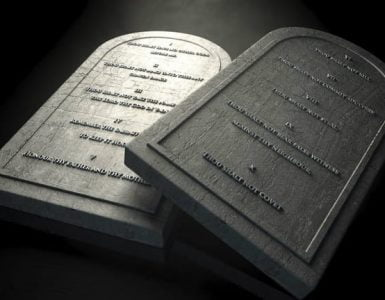 los 10 mandamientos de la biblia