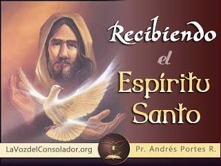 Recibiendo el Espiritu Santo - Serie Andres Portes