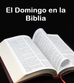 El Domingo en la biblia