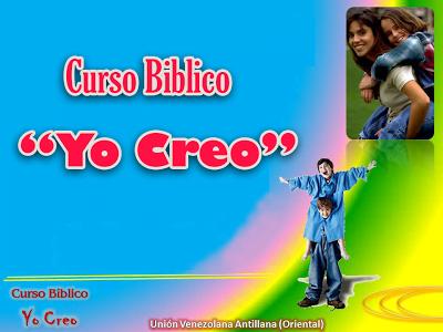 """""""Yo Creo"""" - Curso Bíblico para Niños"""