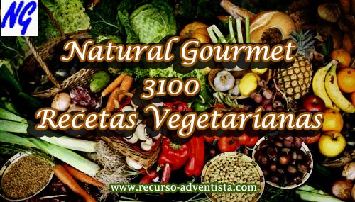 Natural Gourmet - 3100 Recetas Vegetarianas