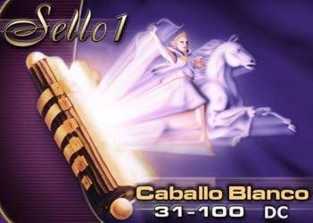Sello 1: Caballo Blanco, 31 - 100 DC