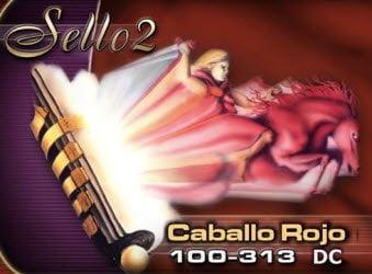 Sello 2: Caballo Rojo, 100-313 DC