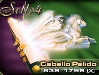 Sello 4: Caballo Amarillo, 538-1798 DC