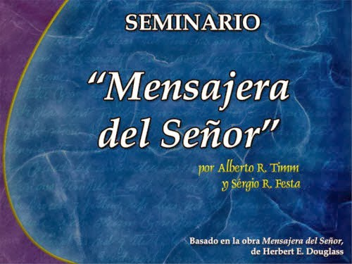 Mensajera del Señor | Seminario PowerPoint