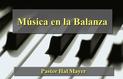 Música en la Balanza - PowerPoint