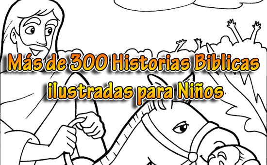 Más De 300 Historias Bíblicas Ilustradas Para Niños