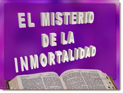 El Misterio de la Inmortalidad | Power Point