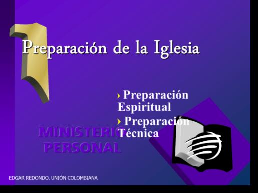 Preparando a mi Iglesia | Seminarios Power Point