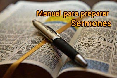 Manual para elaborar Sermones | Recursos Bíblicos