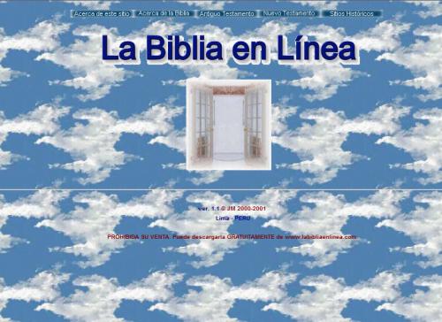 Descargue la Santa Biblia para su Computadora