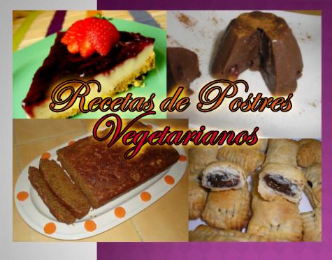 Recetas de Postres Vegetarianos