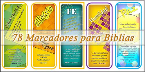 Coleccion De Marcadores Para Biblia Recursos Biblicos