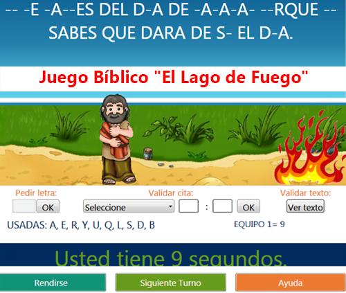 Juego Biblico El Lago De Fuego Para Pc Recursos Biblicos