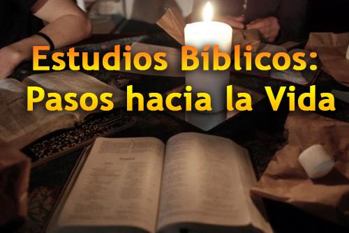 Estudios Bíblicos: Pasos hacia la Vida