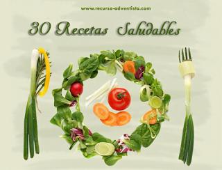 30 Recetas Saludables