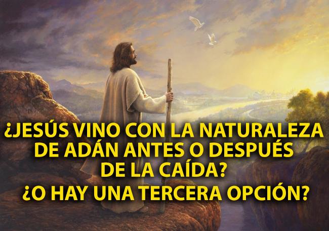 ¿Jesús vino con la Naturaleza de Adán antes o después de la Caída