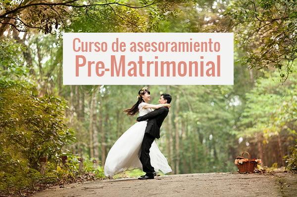 Curso de asesoramiento Pre-Matrimonial