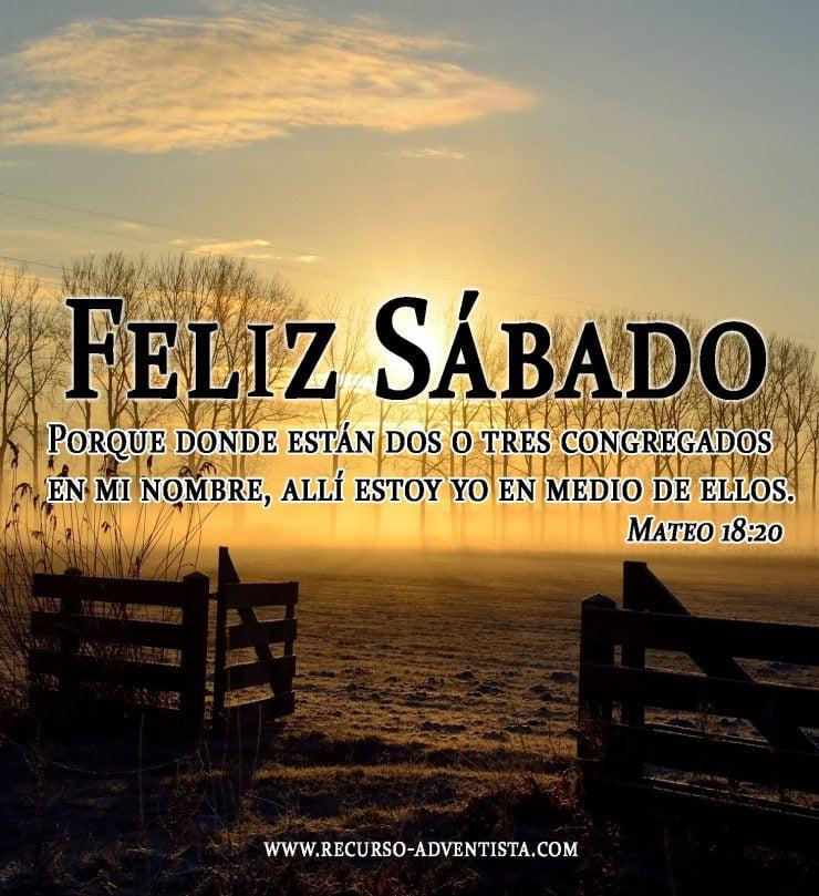 Feliz Sábado Imágenes Recursos Bíblicos