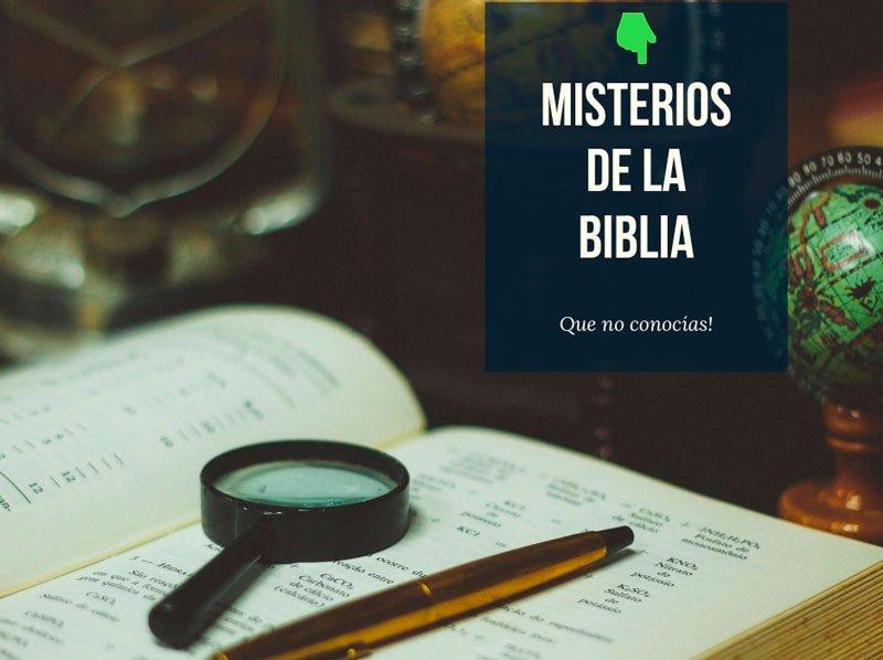 Misterios de la biblia