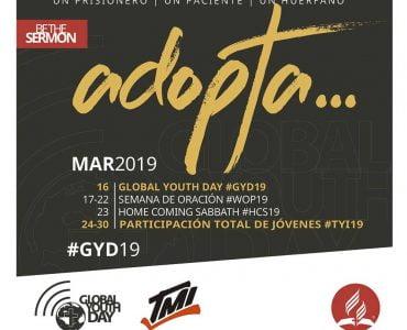 Día Mundial del Joven Adventista 2019