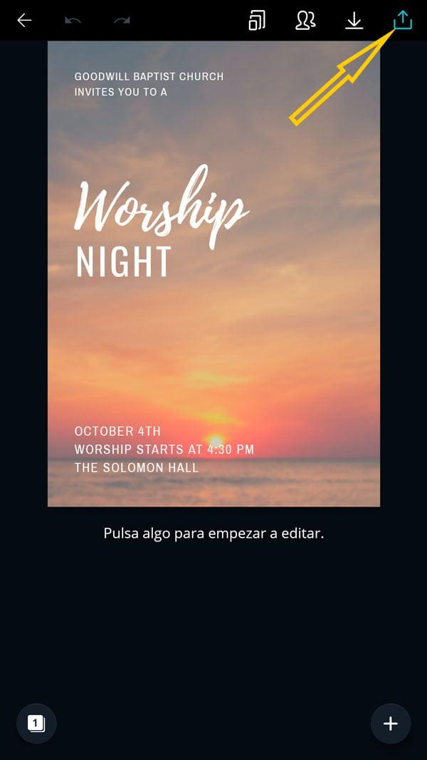 Tarjetas De Invitación Para Eventos De La Iglesia Gratis Y