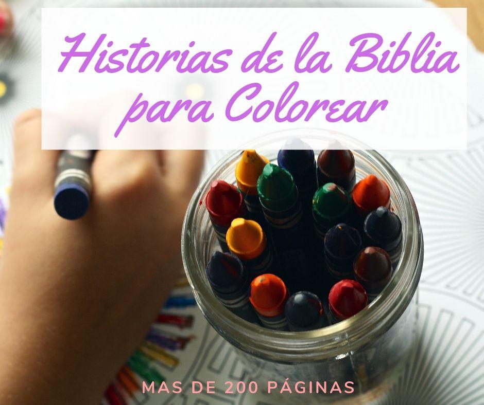 Historias De La Biblia Para Colorear Pdf Recursos Bíblicos